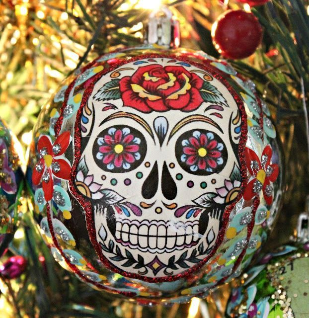 This year I wanted to make something special for my family for Christmas instead of the usual book, rare vodka or beer subscription. I went with handmade, Mexican ornaments for their trees.  It's ra