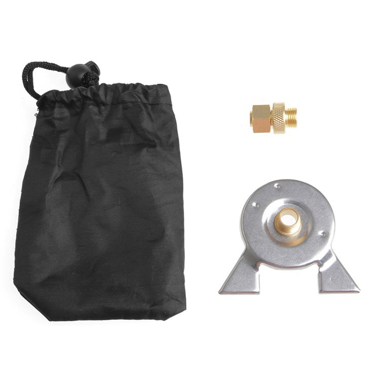 HNGCHOIGE Outdoor Hiking Stove Burning Adapter Furnace Stove Converter Connector Gas Tank-Y122
