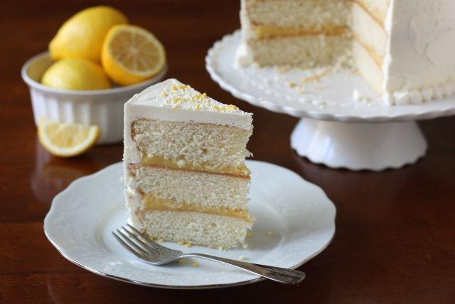 Vanilla Lemon Layer CakeLayered Cakes, Lemon Cakes, Happy Birthday, Vanilla Cake, Sweets Treats, Layer Cakes, Vanilla Lemon, Lemon Layered Cake, Complete Delicious