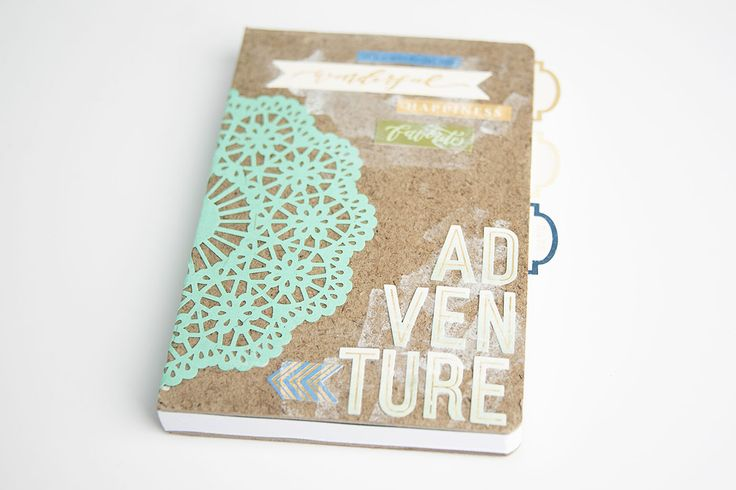 DIY gift idea: adventure notebook via @modpodgerocks