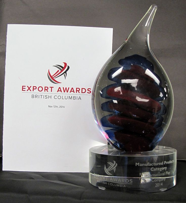 Proud to announce International Play Company is the winner in the 2014 BC Export Awards – Manufactured Products Category - #BCExportAward #ExportAward #2014 #Iplayco #PlayEquipment #PlaySolutions #BCexport