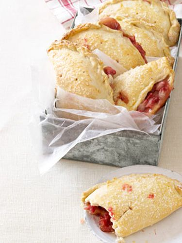 Strawberry Hand Pies Recipe - perfect way to use up my strawberries. Kids will love them!