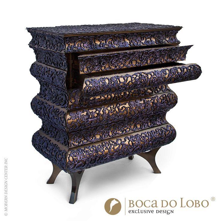 Boca Do Lobo Crochet Chest Purple Limited Edition