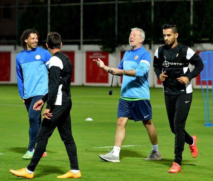 Pablo De Oliveira - Manuel Lanzini - Eric Gerets - Ali Mabkut - Al Jazira Football Club