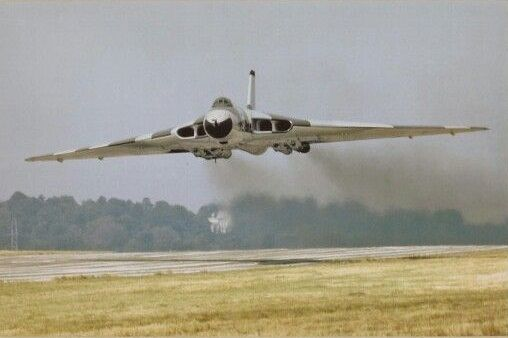CV-2 — british-eevee: Avro Vulcan making a low pass...