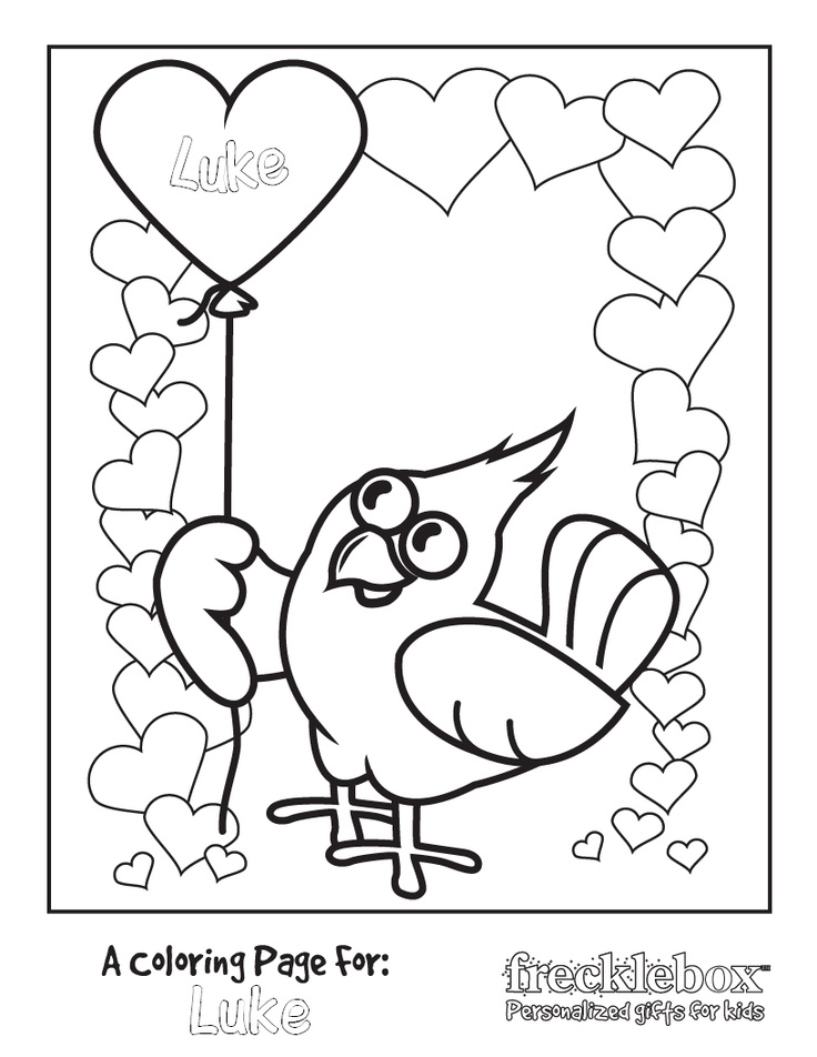 17 Best Images About Valentines On Pinterest Valentine Frecklebox Free Coloring Pages