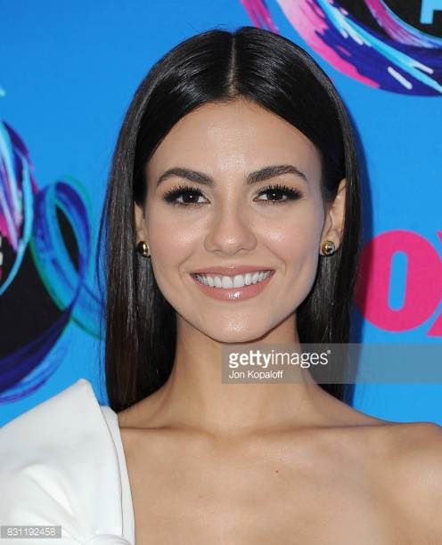 Actress Victoria Justice arrives at the Teen Choice Awards 2017 at Galen Center on August 13 2017 in Los Angeles California