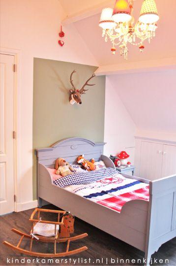 Kinderslaapkamers, kleur muur Histor s3010-g30y