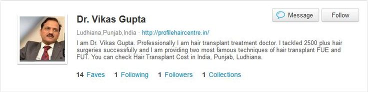 Now you can able to see the Portfolio of Dr. Vikas Gupta and also know about him.