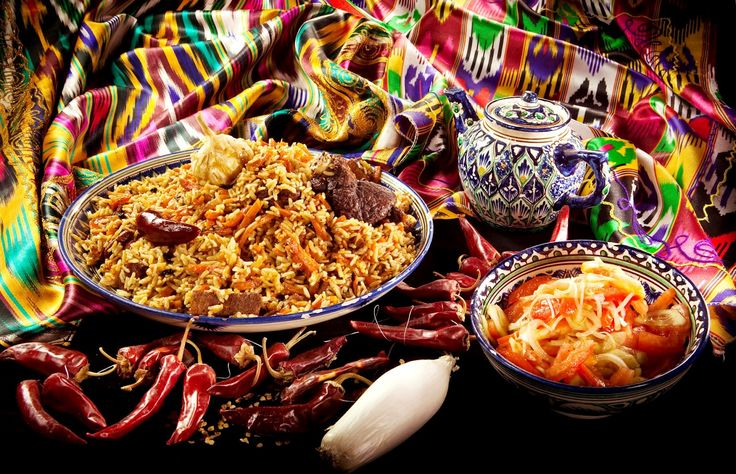 The Most wanted Uzbek meal - Plov (Osh).
