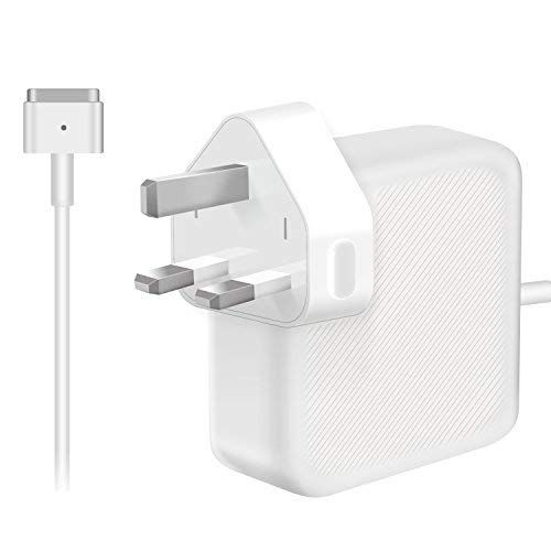 Nuoo Compatible With Macbook Pro Charger 60w Magsafe 2 T Tip Power Adapter Charger For Macbook Pro With 13 Inch And Macbook Air 11 Inch 13 Inch Late 2012