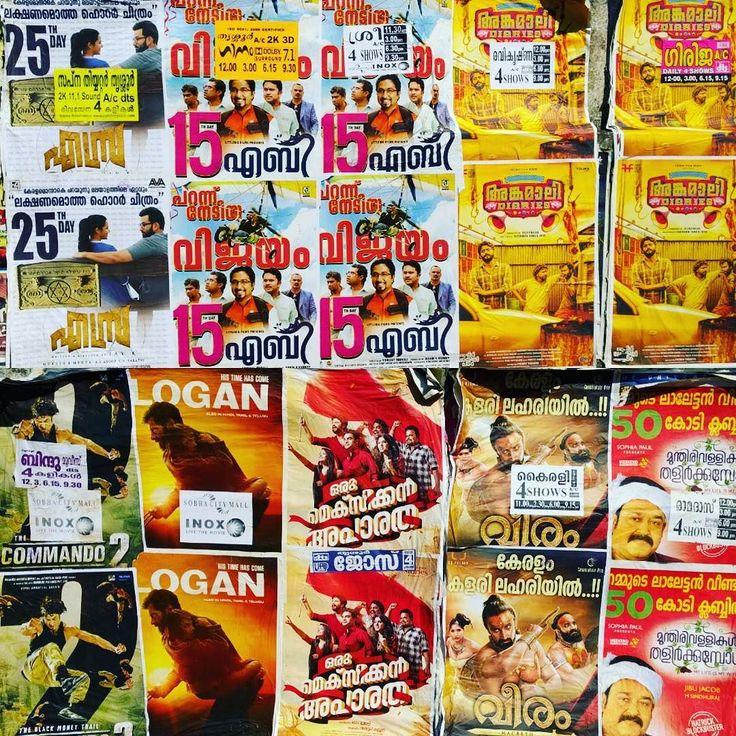 #cine #malayalam #kerala #thrissur #india #carteles #cartelera