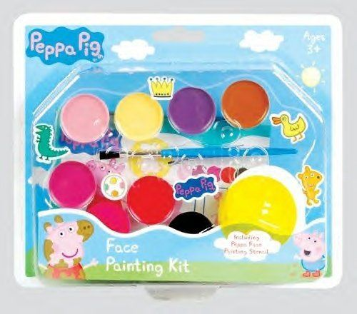 PACK OF 6  Peppa Pig Face Painting Kit