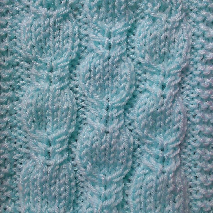 FANCY CABLE KNITTING STITCH PATTERN TUTORIAL