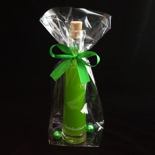 Glazen DUNE fles met badschuim naar keuze! Nog meer originele en leuke geschenken bij DaKaDo! Tegen zeer betaalbare prijs. SNELLE levering - VEILIG betalen