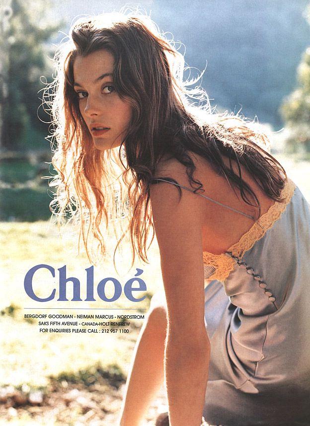 Chloe Spring/Summer 1998, Aurelie Claudel by Perry Ogden