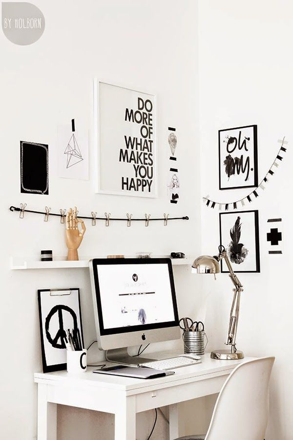 Ideas deco oficina en casa estudio despacho estilo nordico for Oficina y denuncia comentario