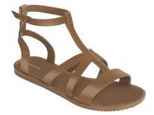 Zaxy hnědé sandály Dual Sandal Fem Brown - 833 Kč