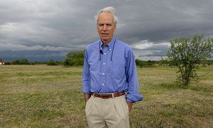 North Face Pioneer Douglas Tompkins at his property in Ibera, near Carlos Pellegrini in Corrientes Province, Argentina, in 2009.