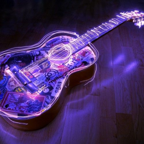 Hd 3d Wallpapers For Android Mobile Guitar wallpaper