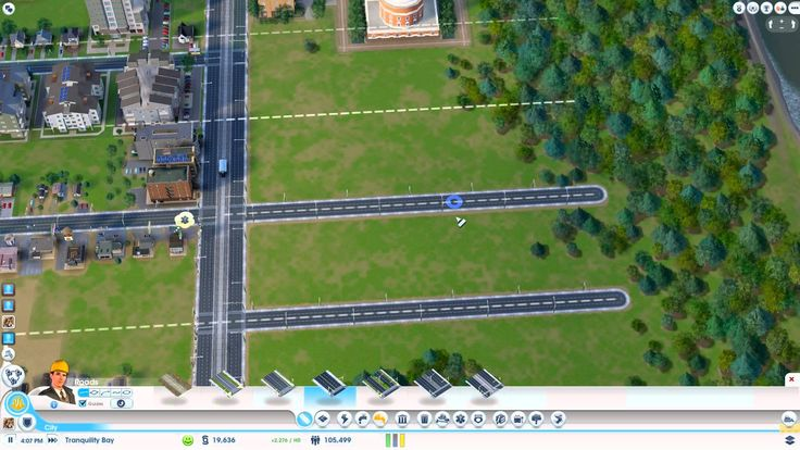 SimCity: How to get High Density Buildings Back to Back
