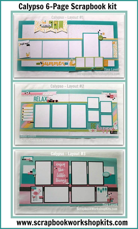Scrapbook ideas calendar pages - Top One Halloween 2016 Scrapbooking Kits Scrapbook Layout Cutting Guides