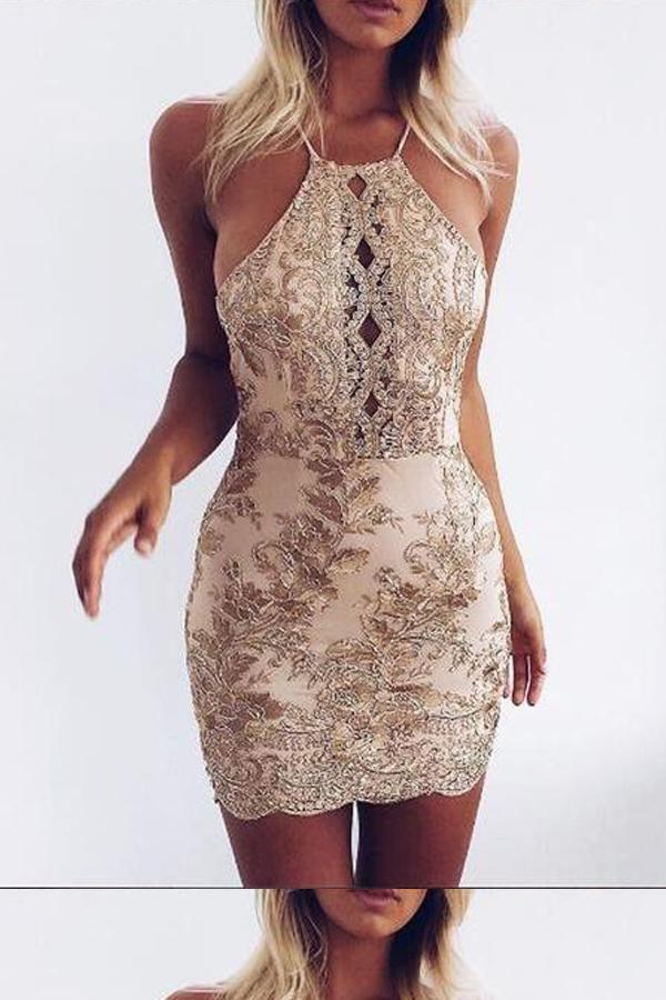 0f0e3c99056 Cheap Dazzling 2019 Homecoming Dress