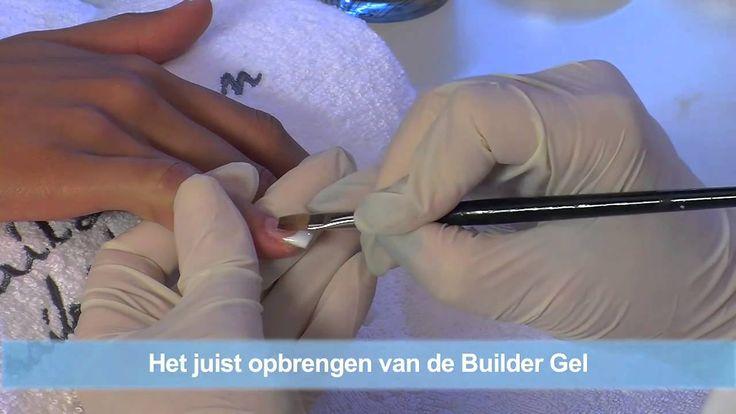 #nded #video #nagels #modellage UV-Gel met Tips - Gelnagels Nieuwmodellering - DVD Reeks nttp://www.nded.nl