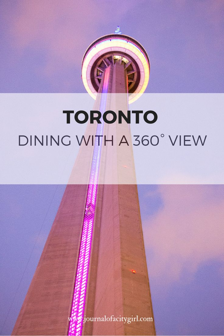 360 Degree Restaurant in Toronto - Jill recommends don't use city pass - make a reso at the restaurant upstairs, skip the 2hr line up the tower and the fee. (pay only for restaurant visit - note it is fine dining) - might be able to do a lunch cheaper, but recommended for sunset viewing!! http://www.cntower.ca/en-ca/360-restaurant/overview.html
