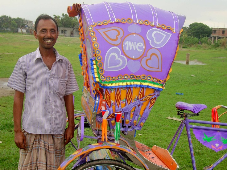 Amjad is a rickshaw puller in Dhaka and he earns 400-500 taka per day. To hire this current rickshaw, Amjad needs to pay a 100 taka per day.    He doesn't pull rickshaw full-time as he has a gastric problem. Also his wife is having health problems. As his father died Amjad needs to contribute money to the village where his mother is still living.    As this is not enough money to support his family, Amjad is also doing some additional work in workshop.