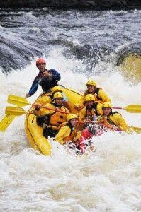 white water rafting, Gatlinburg, TN something we will never forget