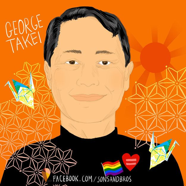 George Takei — actor, LGBT right advocate, ~LEGEND~