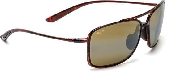Maui Jim Kaupo Gap Polarized Sunglasses Tortoise Hcl Bronze