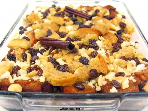 capirotada (mexican bread pudding) this is my ultimate fav mex dessert! can be an Easter tradition too