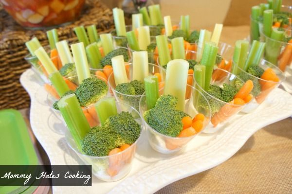 Baby Shower Ideas for Girls On a Budget | love the veggie cups idea and am actually using this idea for an ...