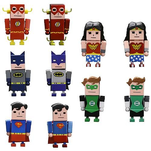 Justice League X Korejanai Mini-Figures...really don't like these :(