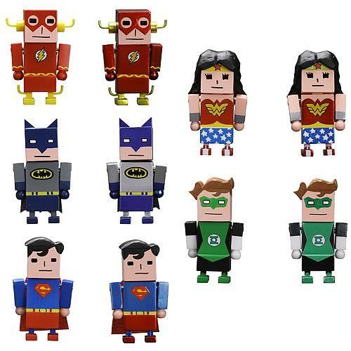 Justice League X Korejanai Mini-Figures...really don't like these :(