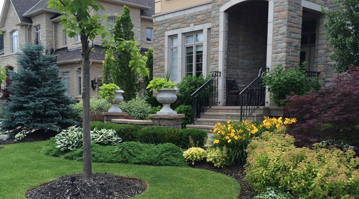 Landscape Design Front Of House Curb Appeal