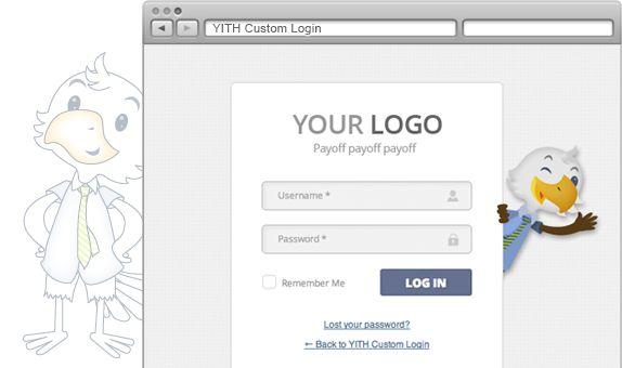 YITH Custom Login | Your Inspiration Themes #free #plugin #wordpress #themes