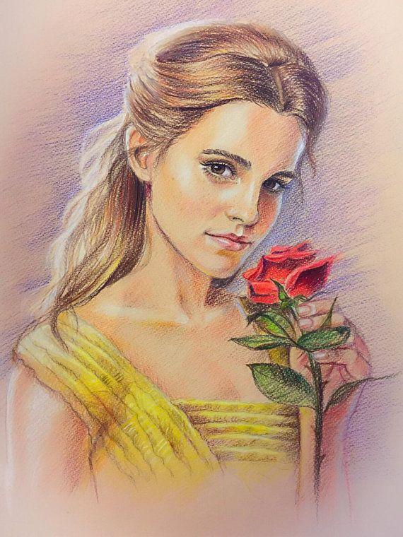 Custom Portrait From Photo Colored Pencil Portrait Colour ...