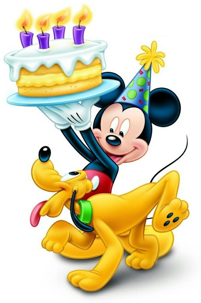 377 Best Birthday Images On Pinterest Posts Beautiful And Dessert Mickey Mouse Wishing Happy Birthday