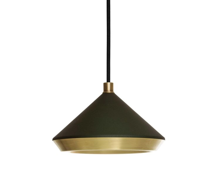 This Shear Pendant is a small versatile pendant that can be used anywhere directional overhead lighting is required. A brushed finish on the inner shade..