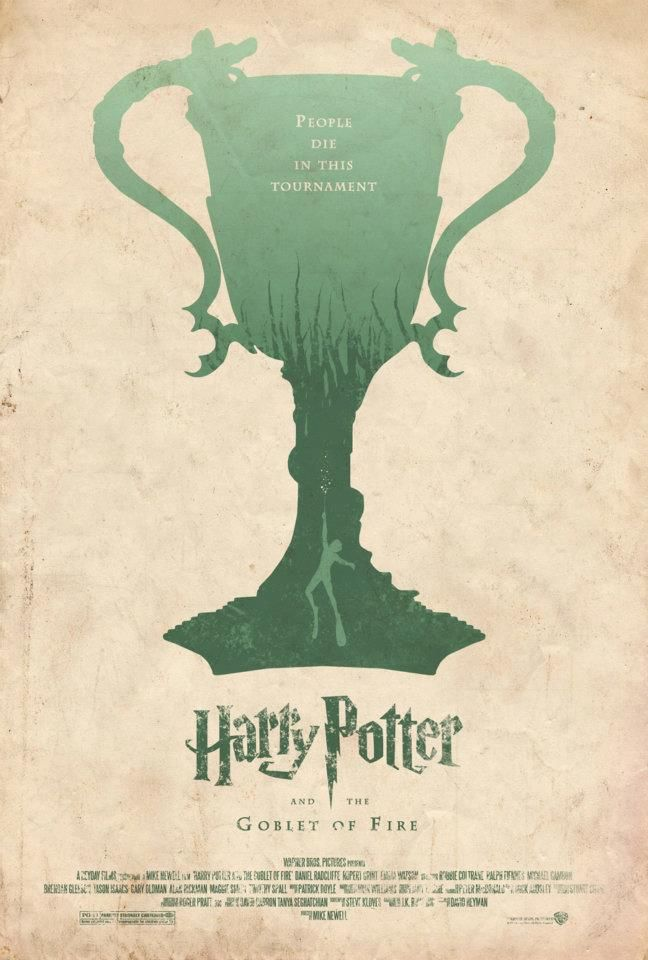 Harry Potter and The Goblet of Fire #jkrowling #harrypotter #posters