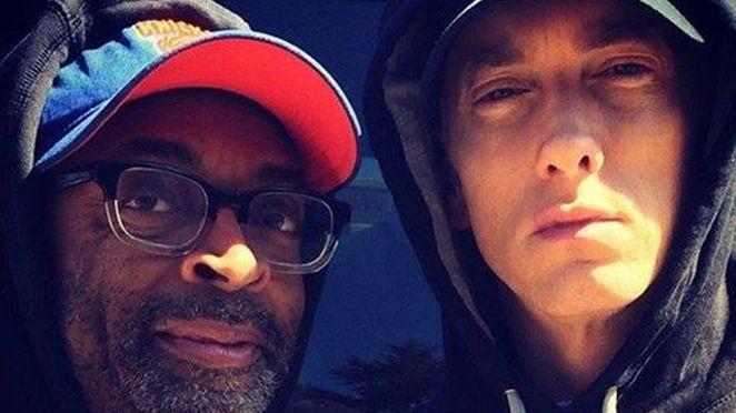 """Eminem a filmat clipul piesei """"Headlights"""", realizată cu Nate Ruess"""