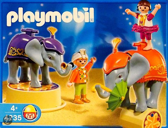 Playmobil olifantenact 4235 playmobil - Cirque playmobil ...
