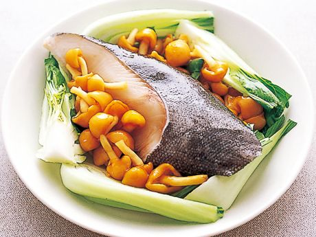 白身魚のなめこ蒸し   広沢京子さんの煮魚の料理レシピ   プロの簡単 ... 白身魚のなめこ蒸しの作り方2