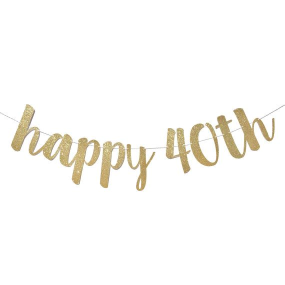 1000+ Ideas About 40th Birthday Decorations On Pinterest