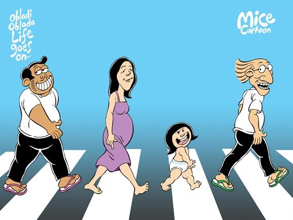 Mice Cartoon: Obladi Oblada, Life Goes On