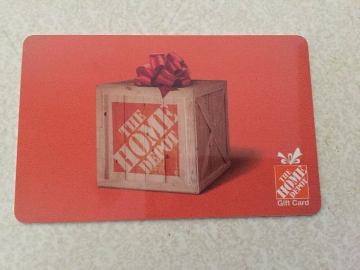 $100 gift card Mail delivery only #card #gift #depot #home