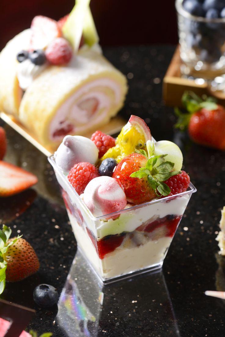 Sweeten your berry special day with various smooth chocolate berry cake. #Berry #Chocolate #cake #dessert #berrylicious #TheOnebyRebaissance #Renaissance #Bangkok #Ratchaprasong #Hotel